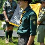 Під час відкриття святкування 20-ліття ЦМ, липень 2011, Сокіл