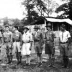 Українські пластуни - учасники ЛШ 1935 р. у Солочині, що її організував Союз Скавтів ЧСР