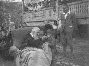 Андрей Шептицький з новаком, Тодір