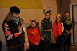 Різдвяний вертеп 2012 р. донецьких пластунів