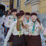 Юначки куреня ч. 38, передача Вифлеємського Вогню Миру в Ужгороді
