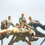 Один з перших таборів, с. Новоселиця, 1999