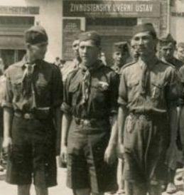 Похід пластунів на святі Матері, Хуст, 17 травня 1936