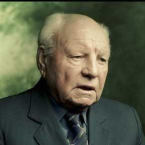 """Пл.сен. Михайло Шваб, кадр з фільму """"Срібна Земля"""""""
