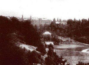 Будинок штабу Київського військового округу, в якому у 1918 р. розміщувався Генеральний Штаб Павла Скоропадського