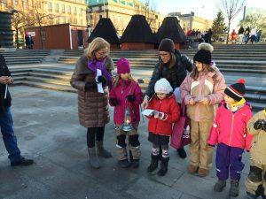 Передача Вифлеємського Вогню у Стокгольмі, Швеція