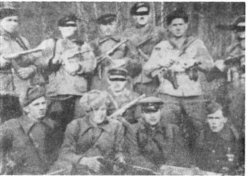 """Підвідділ УПА """"Роман"""" в Карпатах 1950 р."""