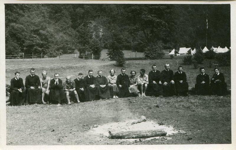Пластовий табір у Солочині, 1938, з архіву Б. Алиськевича
