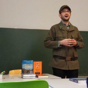 20 січня 2018, Відень, презентація книг Івана Гоменюка та Павла Подобєда