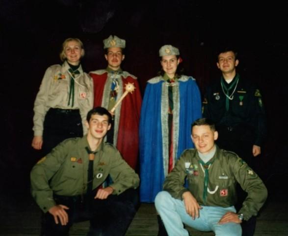 Орликіада 1998 р., Тернопіль, гетьманич - ст.пл.скоб Іван Гоменюк