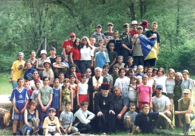 Свято Весни, Чорна Гора, Виноградів, спільне фото з Єпископом о. І. Марґітичем