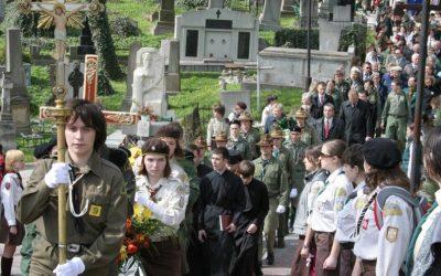 96-та річниця Пласту, перепоховання Северина Левицького