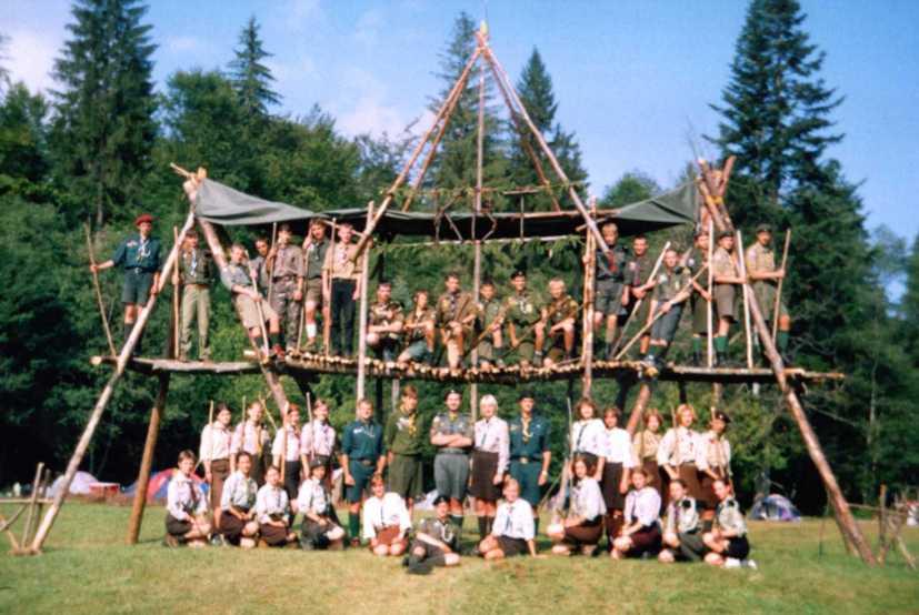 Історія пластових таборів: КВТ 2003