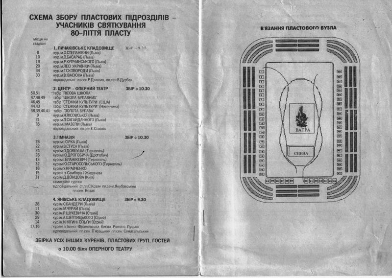 Один світ – один Пласт: про VIII ЮМПЗ у Львові, 1993