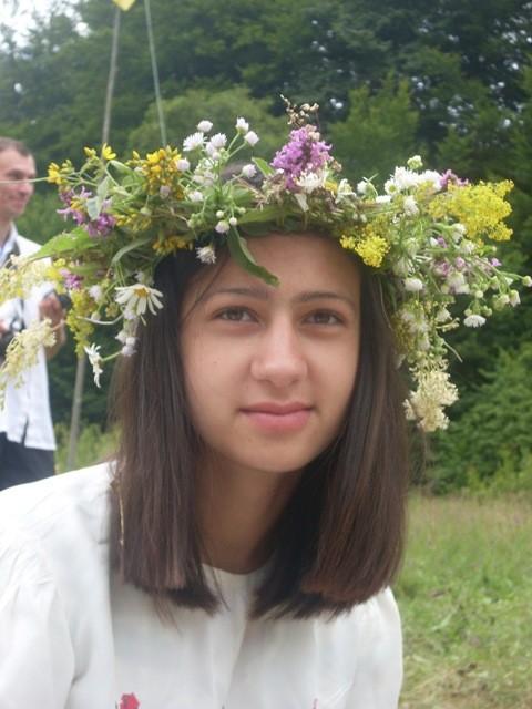 """Пластове Івана Купала на таборі """"Тік-і-Так"""", 2009"""