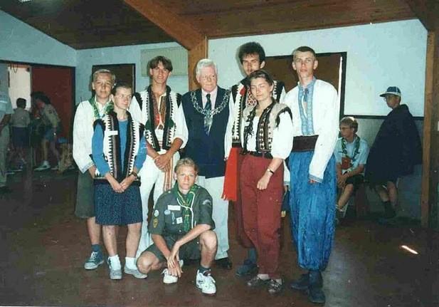 Спогади про 18-те скаутське джемборі в Нідерландах, 1995 (третє продовження)