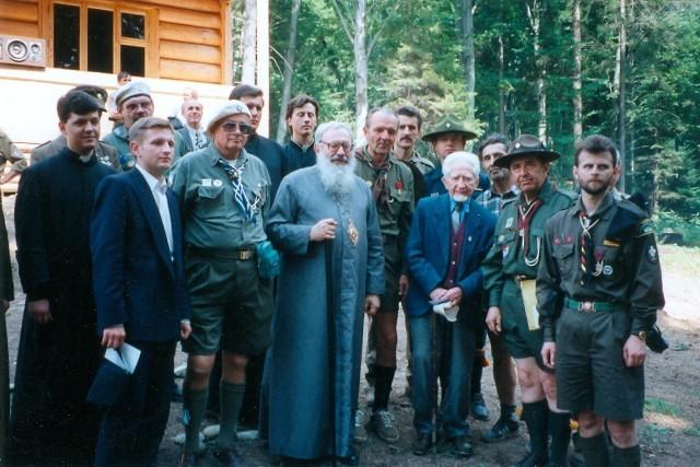 Відео: Проповідь Владики Любомира Гузаря на Соколі, 1997