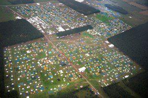 Світове скаутське джемборі з висоти пташиного польоту