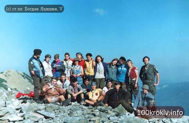 КВТ 2001 на г. Сивуля, Ґорґани