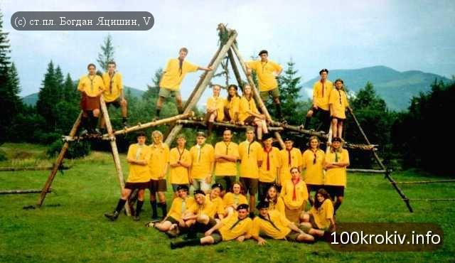 Історія пластових таборів: КВТ 2001