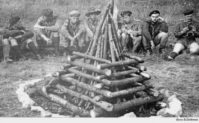 Історія пластових таборів: Лісова Школа в Україні