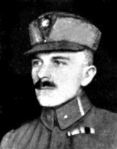 Северин Левицький, Четар УСС, 1915