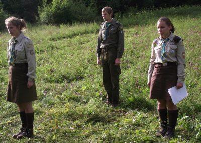 Христина і Леся в проводі табору КрокУкроК-2011