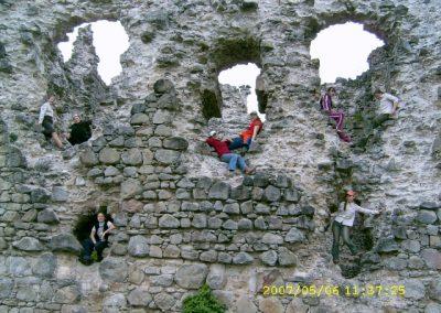 Мандрівка в Середнянський замок