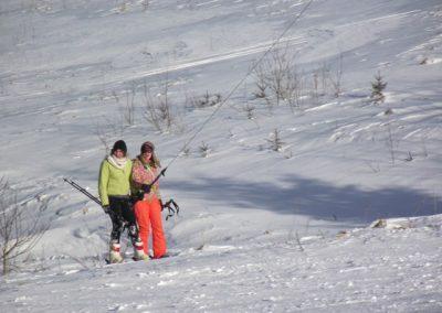 Юля і Оксана на лещетарському таборі
