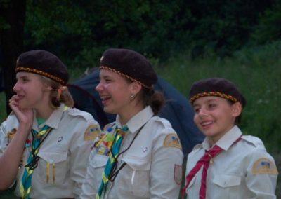 Юля, Христя і юначка Лесі з молодшого гуртка