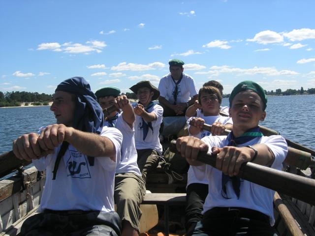Історія таборів: Школа Гребців, Станиця Київ