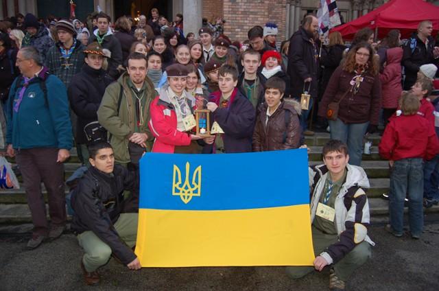 Українські пластуни з Вогнем, Відень, 2009