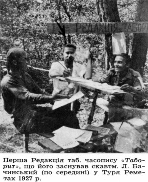 З пластової періодики на Закарпатті 1920-1930 рр.