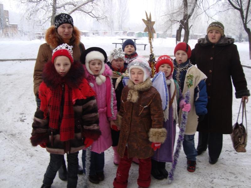 Різдвяні пластові вертепи: Донецьк, Авдіївка