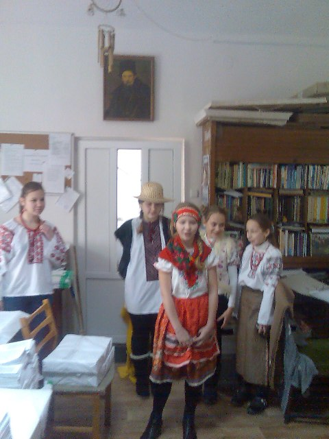 """Гурток """"Акварельки"""", щедрування 2012"""
