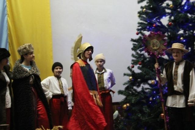 Різдвяна свічечка тернопільських пластунів