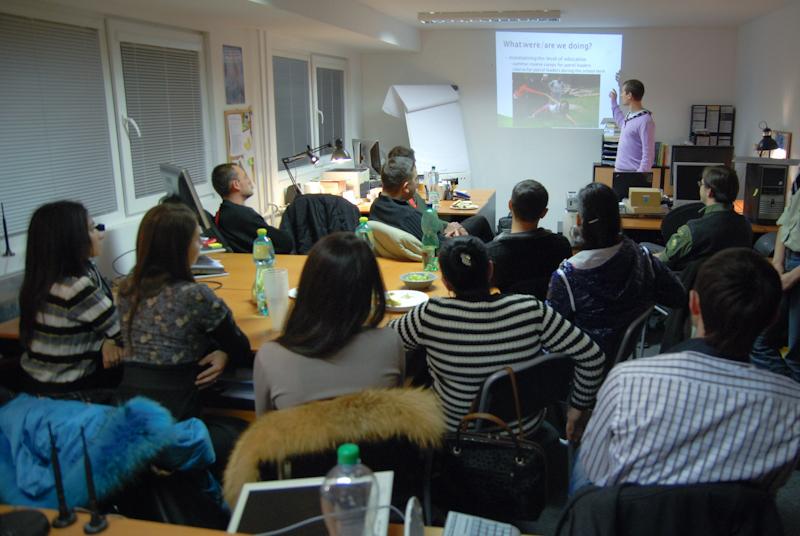 Під час гутірки про розвиток ромського скаутингу у Словаччині, Братислава