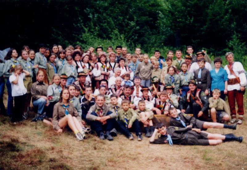 """Табір """"Центр Європи"""", Рахів, 2000"""