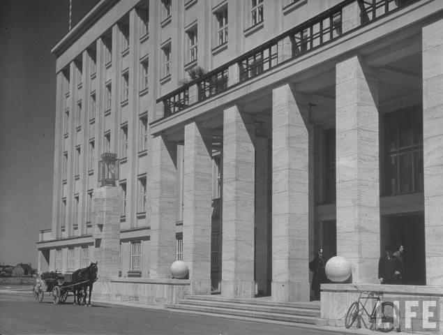 Будинок влади в Ужгороді (нині – приміщення облради та обладміністрації), 1937