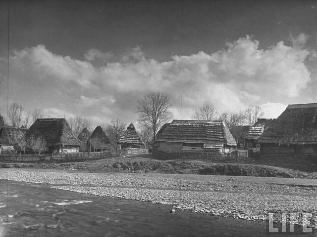Закарпаття, с. Ізки, квітень 1938