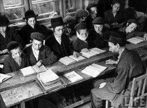 Єврейська молодь за навчанням, Закарпаття, 1937