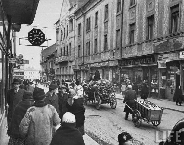 Головна вулиця Ужгорода, 1939