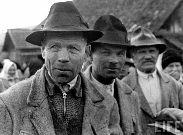 Закарпатські селяни, 1939