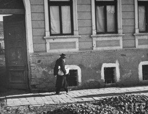 Єврейське гетто в окупованому угорцями Мукачеві, 1939
