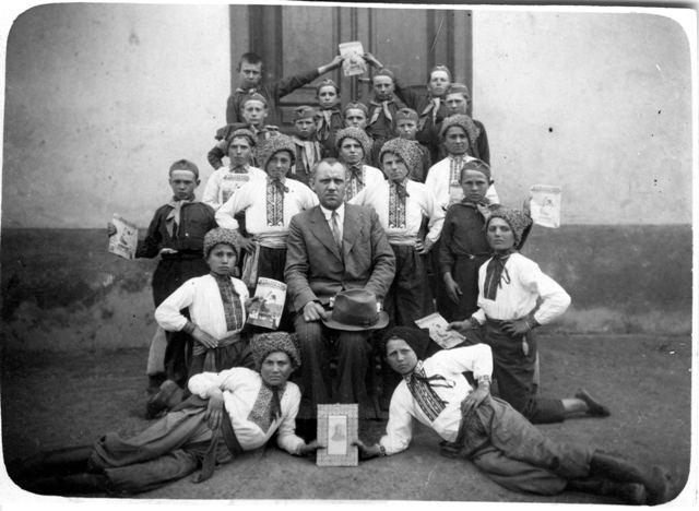 Організаційна схема Пласту на Закарпатті у 1920-1930-их роках