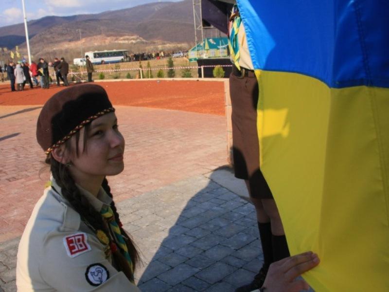 Пластова Присяга юначки Христини Петрінко, Красне Поле, 2009