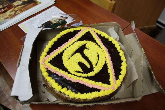 Святковий сіроманський тортик