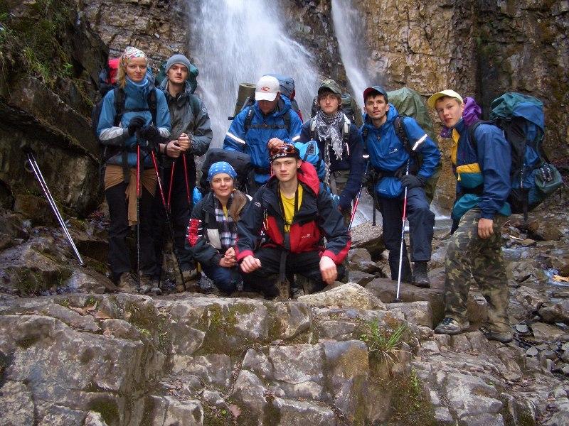 Манявський водоспад, Стежками Героїв, 2007