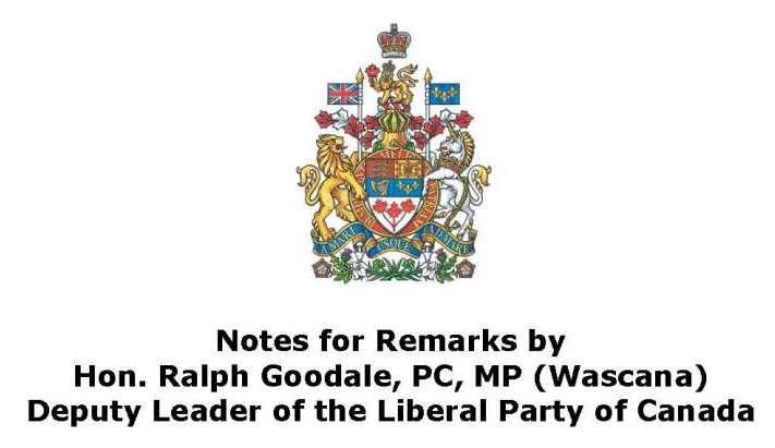 Промова в парламенті Канади з нагоди 100-ліття Пласту