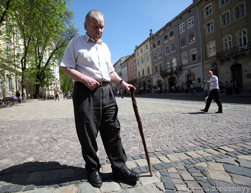 Син Романа Шухевича - Юрій теж відвідав пластові святкові заходи